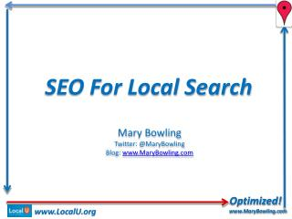 SEO For Local Search