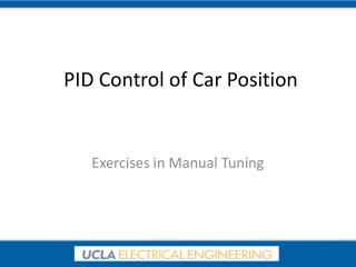 PID Control of Car Position