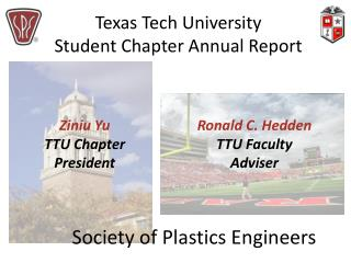 Texas Tech University Student Chapter Annual Report