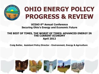 OHIO ENERGY POLICY PROGRESS & REVIEW