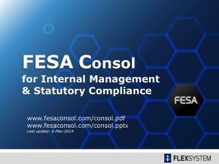 for Internal Management  & Statutory Compliance