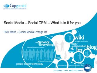 Social Media – Social CRM – What is in it for you