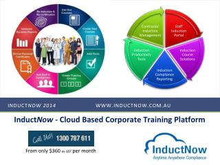Induct Now  2014 	www.inductnow.com.au