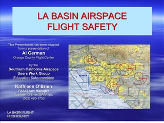 LA BASIN AIRSPACE FLIGHT SAFETY