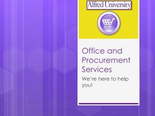 Office and Procurement Services