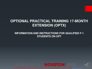 University Center North, Room 203, Houston , TX 77204-3024    Phone: (713) 743-5065    Fax: (713) 743-5079   http://