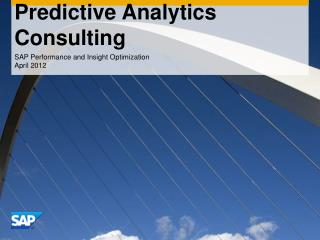 Predictive Analytics Consulting
