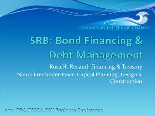 SRB: Bond Financing & Debt Management