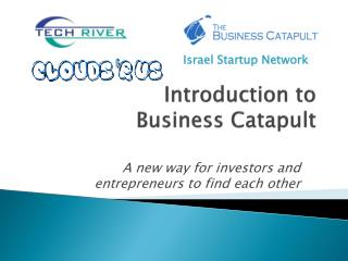 Introduction to Business Catapult
