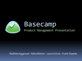 Basecamp Product Management Presentation