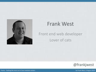 Frank West