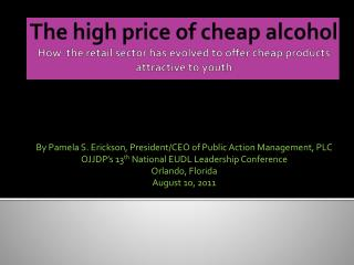 The high price of cheap alcohol How  the retail sector has evolved to offer cheap products attractive to youth