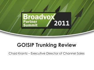 GO!SIP Trunking Review