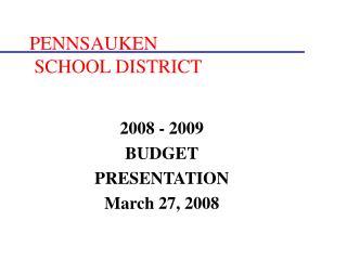 PENNSAUKEN  SCHOOL DISTRICT