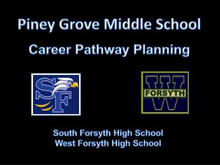 Piney Grove Middle  School Career Pathway Planning