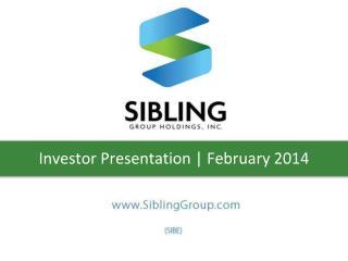Investor Presentation | February 2014