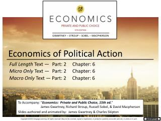 Economics of Political Action