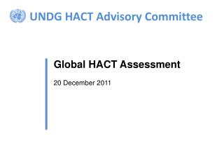 UNDG HACT Advisory Committee