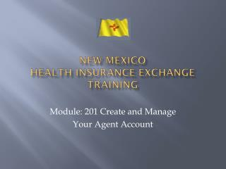 New mexico  Health insurance exchange training