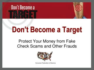 Don�t Become a Target
