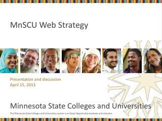 MnSCU Web Strategy