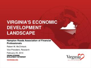 Virginia's Economic Development Landscape
