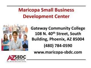 Maricopa Small Business Development Center