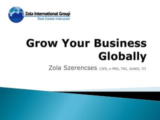 Grow Your Business Globally
