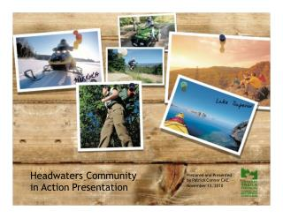 Headwaters Community in Action Presentation