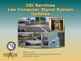 CEI Services  Lee Computer Signal System Updates