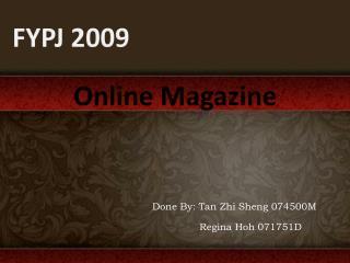 FYPJ 2009