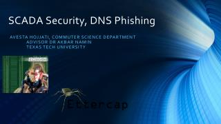 SCADA Security, DNS Phishing