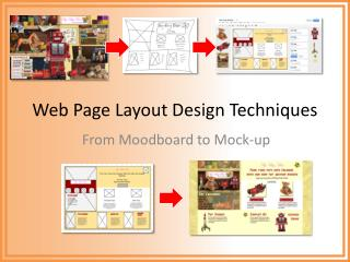 Web  Page  Layout Design Techniques