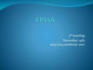EPSSA