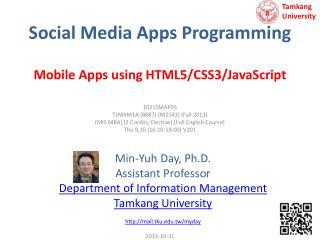 Social Media Apps Programming