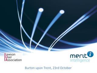 Burton  upon Trent, 23rd  October