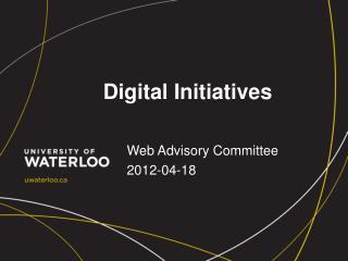 Digital Initiatives