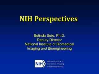 NIH Perspectives
