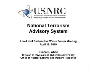 Homeland Security Advisory System