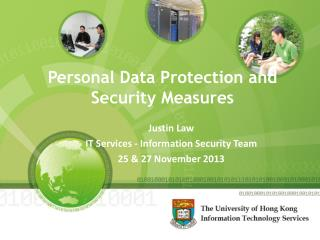 Personal Data Protection and Security Measures