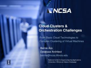 Cloud Clusters & Orchestration Challenges