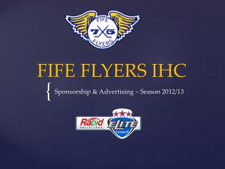 FIFE FLYERS IHC