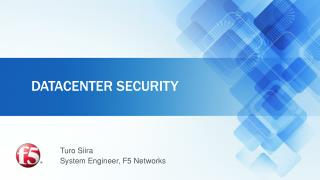Datacenter  security