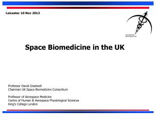 Space Biomedicine in the UK