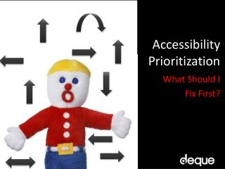 Accessibility  Prioritization