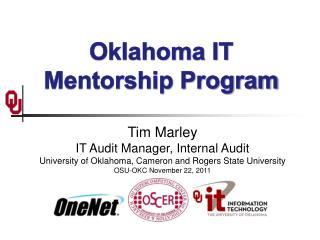 Oklahoma IT Mentorship Program