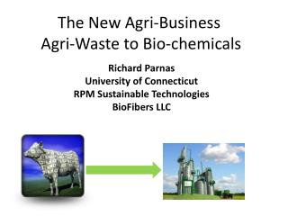 The New Agri-Business Agri -Waste to Bio-chemicals