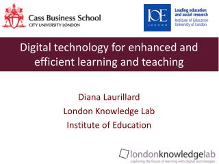Digital technology for enhanced and efficient learning and teaching
