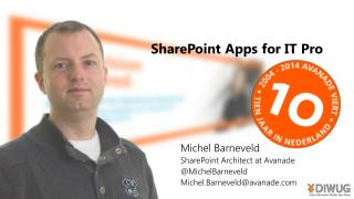 SharePoint Apps for IT Pro