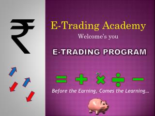 E-trading PROGRAM